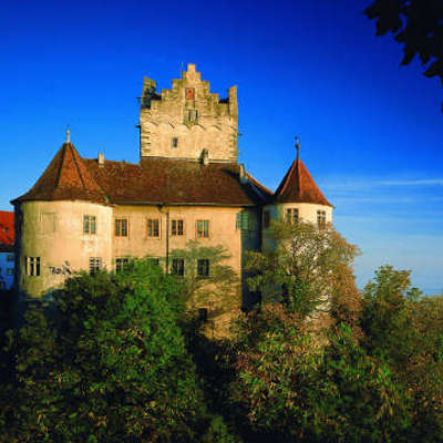Allemagne Bade Wurtemberg chateau paysage