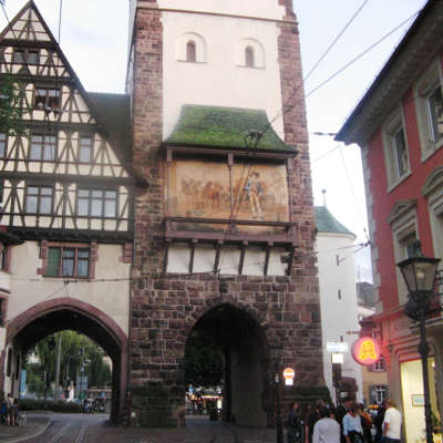 Allemagne Freiburg Foret Norde Architecture