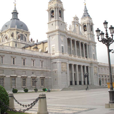 Espagne Madrid Cathedrale