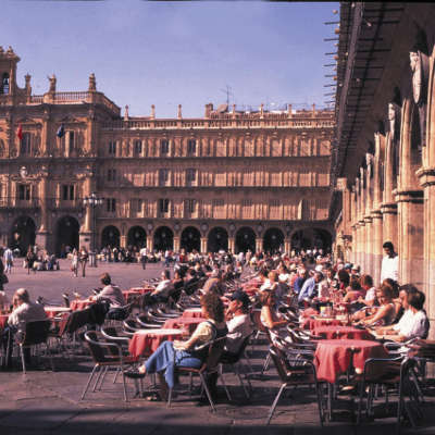 Espagne Madrid Plaza Mayor Salamanca