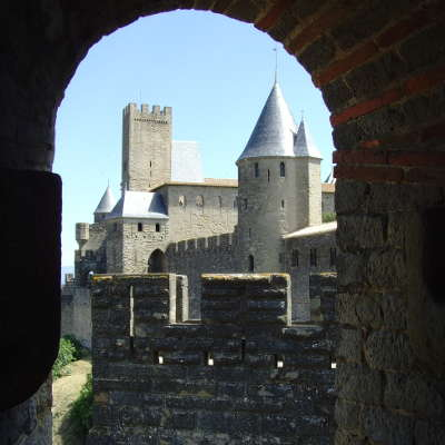 France carcassonne chateau