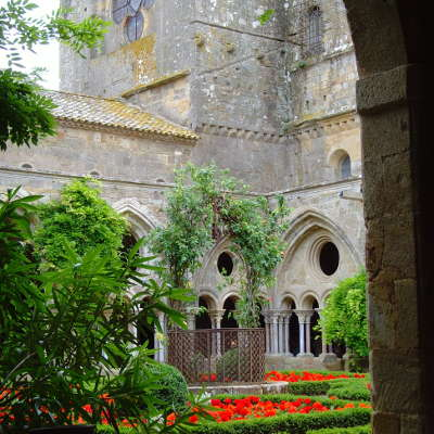 France toulouse narbonne abbaye de fontfroide