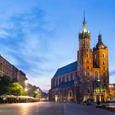 Pologne Cracovie Centre Ville